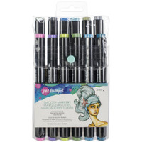 Jane Davenport - Artomology Smooth Dual Tip Alcohol Markers - Mermesmerizing