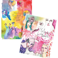 Jane Davenport Artomology Washi Sheets - Washi Girls
