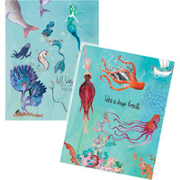 Jane Davenport Artomology Washi Sheets - Washi Mermaids