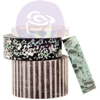 Prima Marketing - Flirty Fleur Decorative Washi Tape - Set of 4