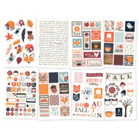 Carpe Diem - Simple Stories - Forever Fall  - Stickers - 8 Sheets