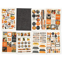 Carpe Diem - Simple Stories - Simple Vintage Halloween - Stickers - 8 Sheets