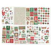 Carpe Diem - Simple Stories - Merry & Bright Stickers - Stickers - 8 Sheets