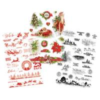 Carpe Diem - Simple Stories - Simple Vintage Christmas Clear Stickers