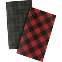 Echo Park - Traveler's Notebook Insert - Lined - Standard - Red Buffalo Plaid