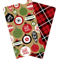 Echo Park - Traveler's Notebook Insert - Standard - Christmas (Blank)