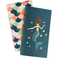 Echo Park - Traveler's Notebook Insert - Weekly Calendar - Standard - Mermaid