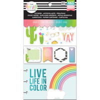 Me and My Big Ideas - The Happy Planner - Note Cards & Sticky Note Multi Pack - Brights