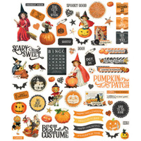 Carpe Diem - Simple Stories - Simple Vintage Halloween - Die Cuts
