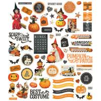Carpe Diem - Simple Stories - Simple Vintage Halloween - Die Cuts