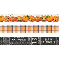 Carpe Diem - Washi Tape - Set of 3 - Simple Vintage Halloween