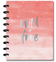 Create 365 - The Happy Planner - Me and My Big Ideas - Happy Notes - Wild & Free - Classic (Dot Grid)