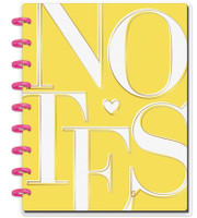 The Happy Planner - Me and My Big Ideas - Happy Notes - Yellow Notes - Classic (Graph)