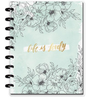 Create 365 - The Happy Planner - Me and My Big Ideas - Happy Notes - Life Is Lovely - Classic (Lined)