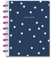 The Happy Planner - Me and My Big Ideas - Happy Notes - Navy & Dots - Classic (Dot Grid)