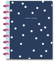 Create 365 - The Happy Planner - Me and My Big Ideas - Happy Notes - Navy & Dots - Classic (Dot Grid)