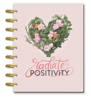 The Happy Planner - Me and My Big Ideas - 2018 - 2019 Classic Happy Planner® - Magic Blooms - SECONDS/DAMAGED