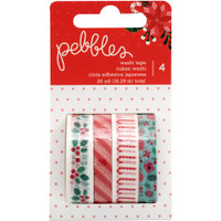 Washi Tape - Pebbles - Cozy & Bright - Christmas