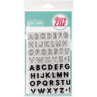 "Avery Elle Clear Stamp Set 4"" X 6"" - Modern Alphabet"