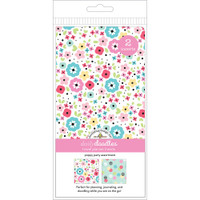 Doodlebug Designs - Traveler Notebook Inserts - Poppy Party - Standard (Lined Grid, Dot Grid)