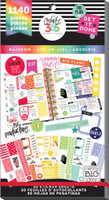 Me and My Big Ideas - The Happy Planner - Value Sticker Book - Rainbow - Classic (Exclusive)