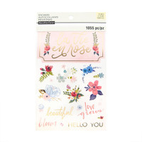 Recollections - Floral Sticker Book