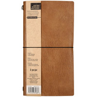 Recollections - Brown Traveler Notebook - Standard