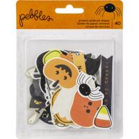Pebbles - Spooky Boo Ephemera Cardstock Die-Cuts - Halloween