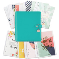 Carpe Diem - Posh - A5 Planner Boxed Set - Aqua - Undated