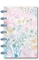 Create 365 - The Happy Planner - Me and My Big Ideas - 2019 Mini Happy Planner - Watercolor Floral (Horizontal)