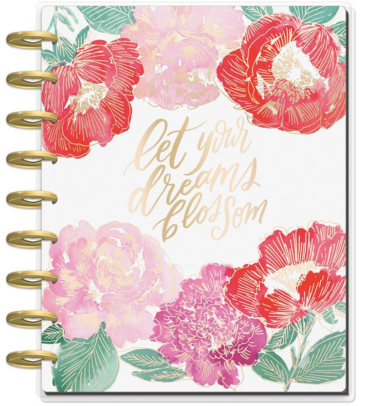 The Happy Planner - Me and My Big Ideas -2019 Classic Happy Planner® - Year  in Bloom (Dated, Monthly)