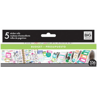 Me and My Big Ideas - The Happy Planner - Sticker Roll - Budget