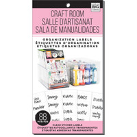 Me and My Big Ideas - The Happy Planner - Storage Labels - Craft Room