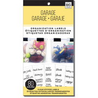 Me and My Big Ideas - The Happy Planner - Storage Labels - Garage