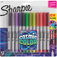 Sharpie - Cosmic Color Ultra Fine Point Markers - Set of 12