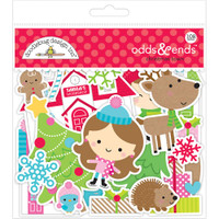 Doodlebug - Odds & Ends Die-Cuts - Christmas Town
