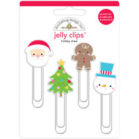 Doodlebug Jelly Clips - Holiday Cheer