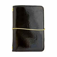 Recollections - Pocket Traveler's Planner - Dark Glamour Black
