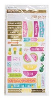 Recollections - Creative Year Tropical Stickers
