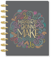 The Happy Planner - Me and My Big Ideas - 2019 Deluxe Classic Happy Planner - 12 Month - Miss Maker (Checklist Layout)