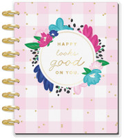 Create 365 - The Happy Planner - Me and My Big Ideas - 2019 Deluxe Classic Happy Planner - 12 Month - Socialite (Color Block Layout)