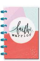 Me and My Big Ideas - 2019 Deluxe Mini Happy Planner - 12 Month - Faith Warrior (Vertical)