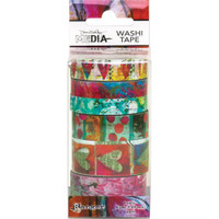Dina Wakley Media - Washi Tape Set #3 - Set of 6