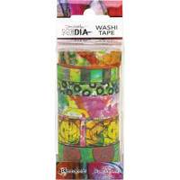 Dina Wakley Media - Washi Tape Set #4 - Set of 6