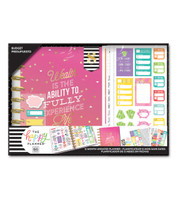 The Happy Planner - Me and My Big Ideas - Classic 12 Month Box Kit - Budget Wealth (Undated, Budget)