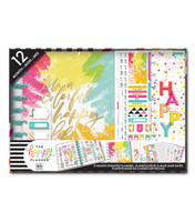 Me and My Big Ideas - The Happy Planner -  12 Month Box Kit - Colorful Happy (Vertical, Undated)
