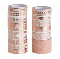 Recollections - Large Washi Tape Tube - Rose Gold