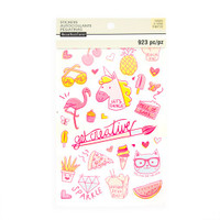 Recollections - Trendy Neon Sticker Book