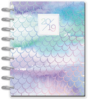 The Happy Planner - Me and My Big Ideas - 2019 Classic Happy Planner - Mermaidesque (Dated, Lined Vertical)