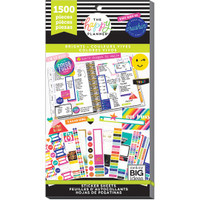 Me and My Big Ideas - The Happy Planner - Value Pack Stickers - Bright (#1500)